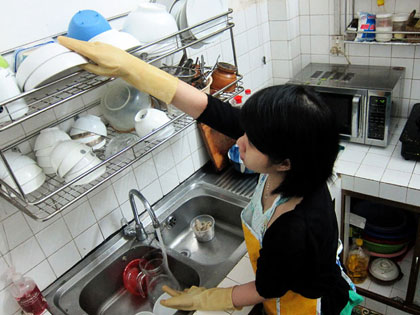 Nhân viên giúp việc kinh nghiệm của trung tâm giúp việc Hồng Doan tại Hà Nội
