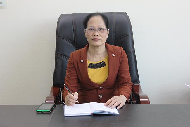 Bà Nguyễn Thị Hồng Doan - Giám đốc trung tâm dịch vụ giúp việc Hồng Doan