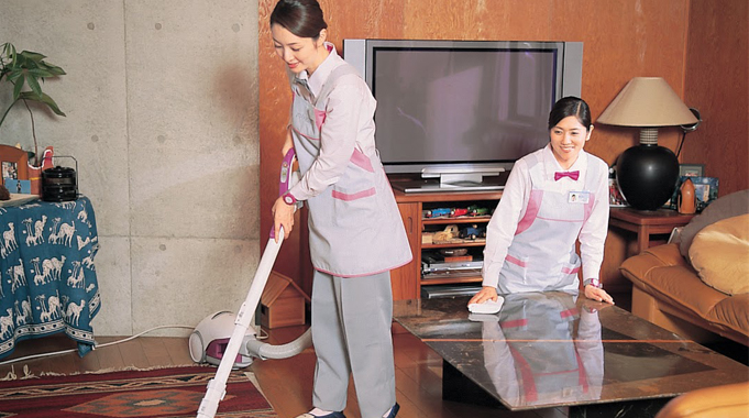 Dịch vụ giúp chị em bớt áp lực việc nhà.